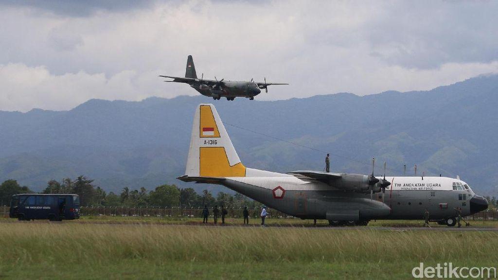 Menginap di Aceh, Pesawat Bantuan Rohingya ke Bangladesh Kamis Pagi