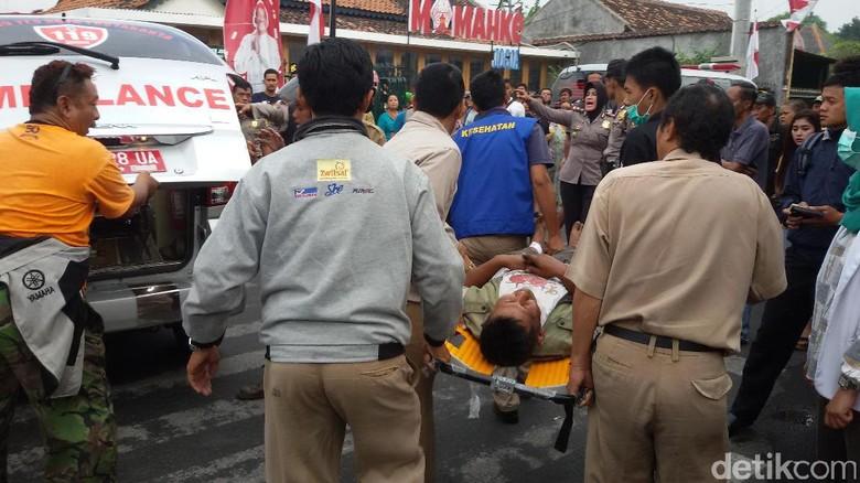 2 Korban Luka dalam Kebakaran 6 Rumah di Yogyakarta Dilarikan ke RS