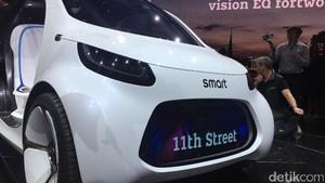 Melihat Lebih Dekat Mobil Tanpa Sopir Cute dari Smart