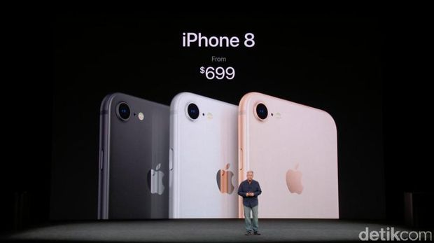 Ini Harga iPhone 8, iPhone 8 Plus, dan iPhone X