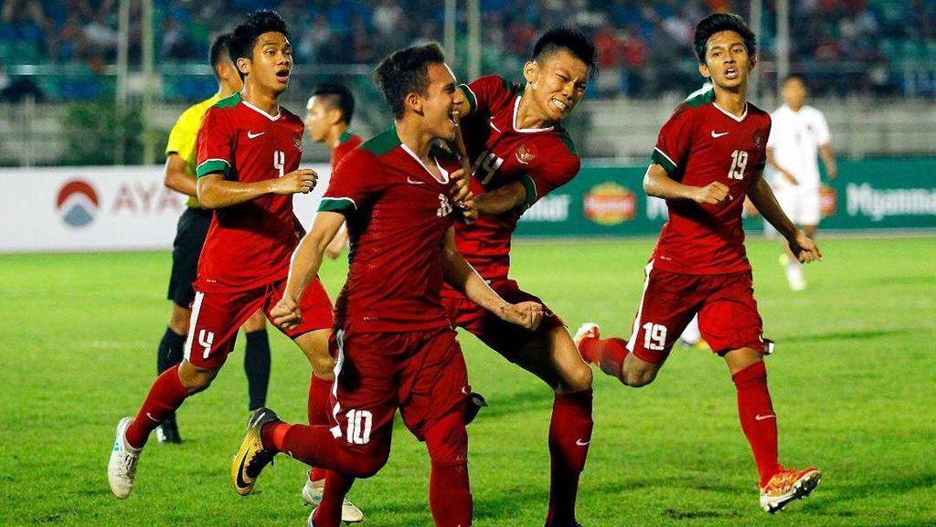 Indonesia Menang Telak, Menpora: Semoga Timnas U-19 Makin Kuat