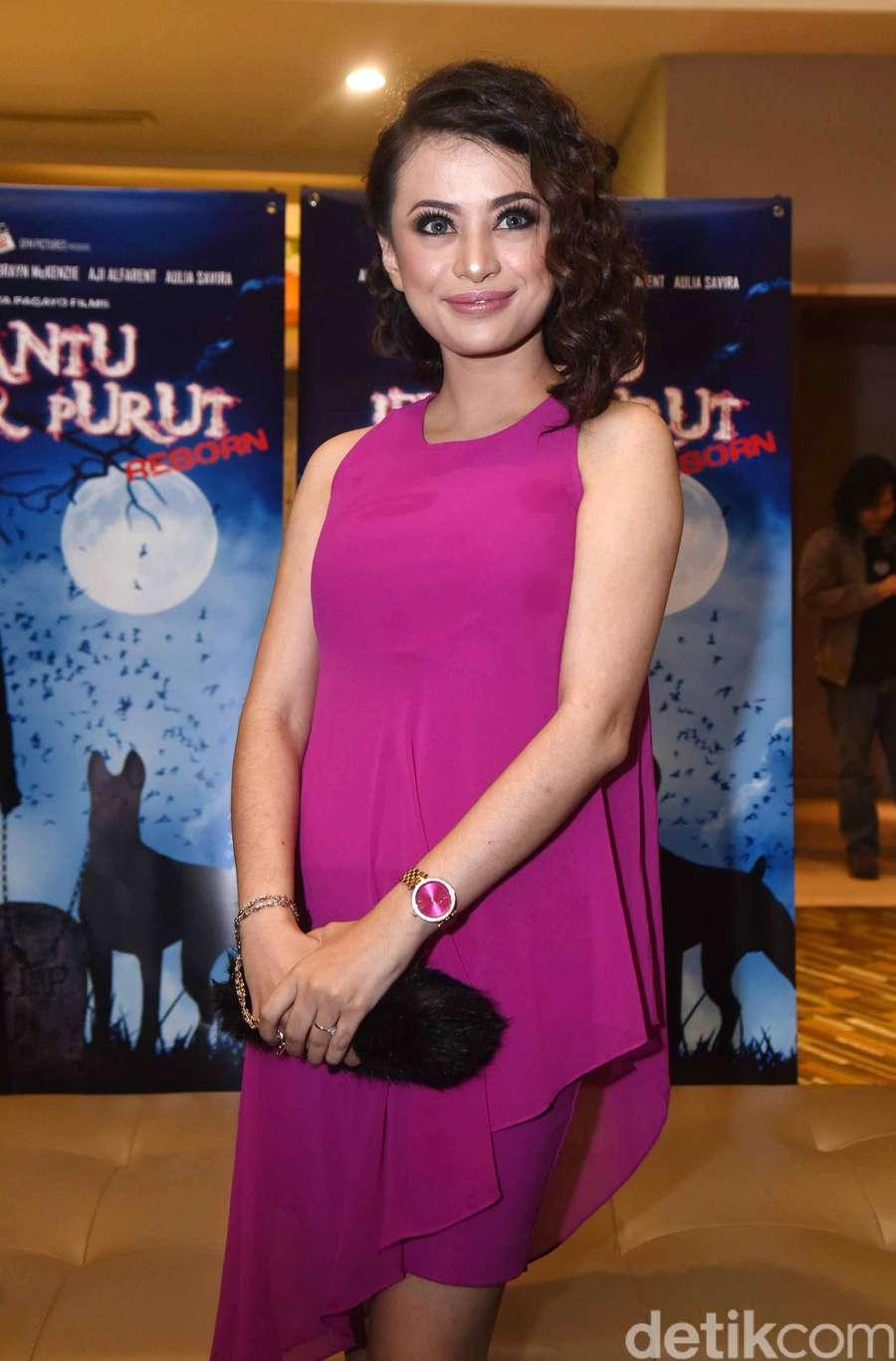 Balik ke Indonesia, Angie Yulia Kangen Main Film Lagi
