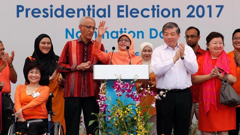 Resmi Jadi Presiden Singapura, Halimah: Saya Presiden Semua Orang