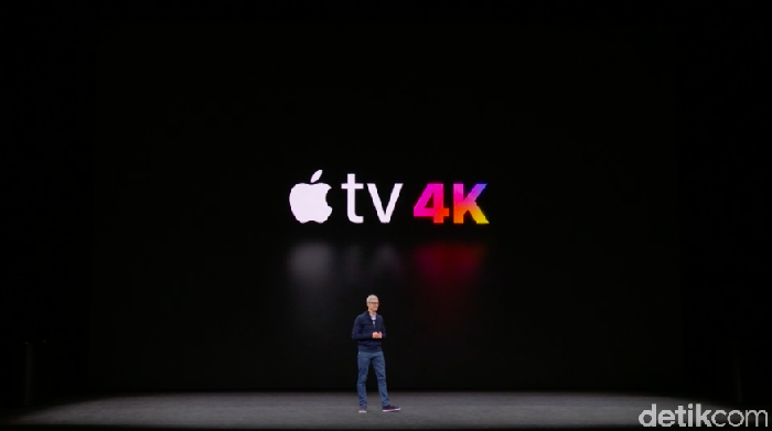 Apple TV 4K (Achmad Rouzni Noor II/detikINET)