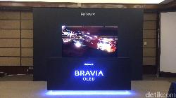 Sony Boyong TV 4K dengan Layar yang Bisa Bersuara