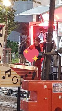 Lay 'EXO' terlihat syuting di Korea