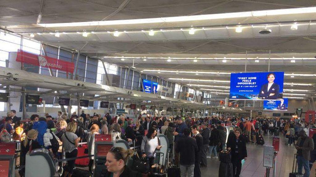 Penerbangan dari dan ke Sydney Tertunda karena Angin Kencang
