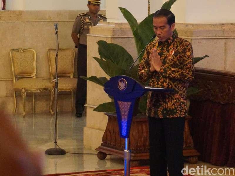 Jokowi Minta Warga di Sekitar Gunung Agung Patuhi Intruksi Petugas