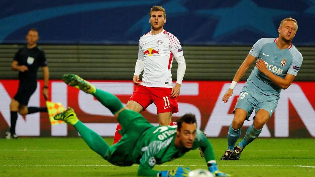 Debut di Liga Champions, RB Leipzig Imbang dengan Monaco 1-1