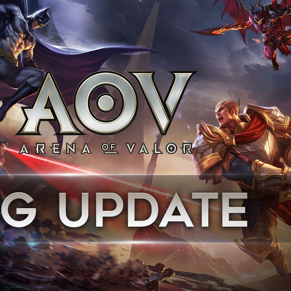 Ada Update Besar-besaran di AOV, Apa Saja yang Baru?