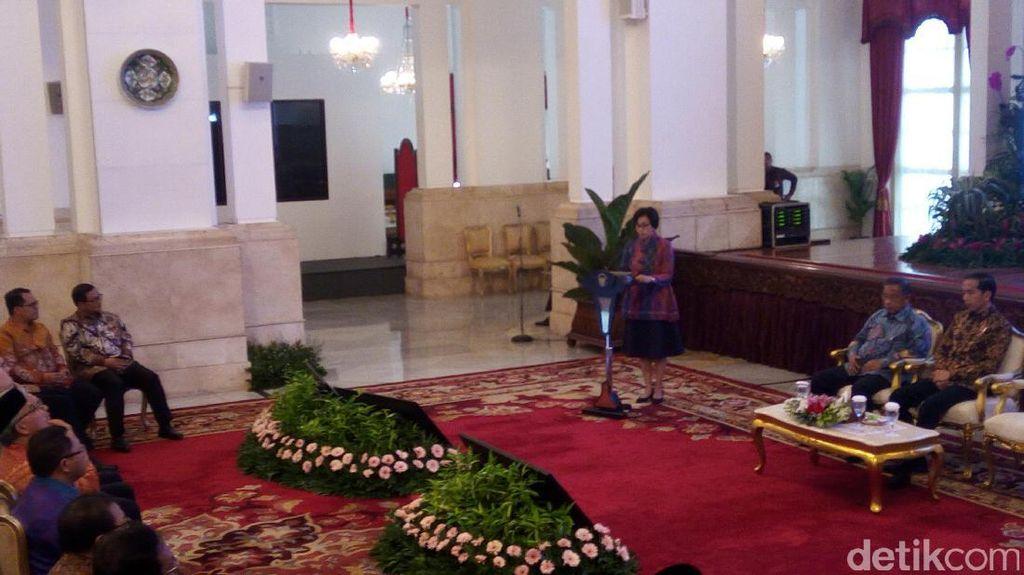 Jokowi Buka Rakernas Akuntansi Pemerintah di Istana