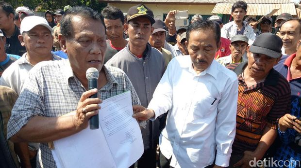 Ratusan Orang di Palembang Protes Pengukuran Tanah oleh BPN