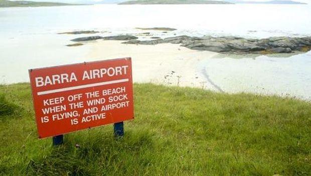 Bandara Barra ditutup saat sedang pasang (Thinstock)
