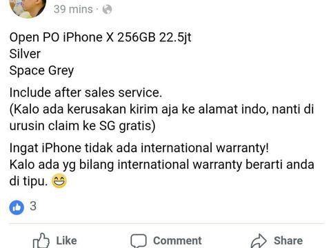 Fanboy Indonesia Mau Pesan iPhone X, Siapkan Rp 22 Juta!