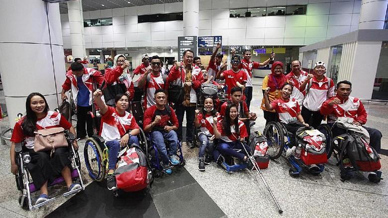 Tiba di Malaysia, Kontingen Indonesia Siap Tempur di ASEAN Para Games 2017