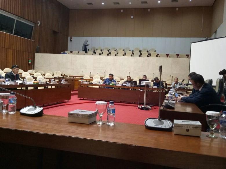 Pansus Angket KPK-PuslabforPolri Rapat Tertutup Bahas CCTV OTT BPK