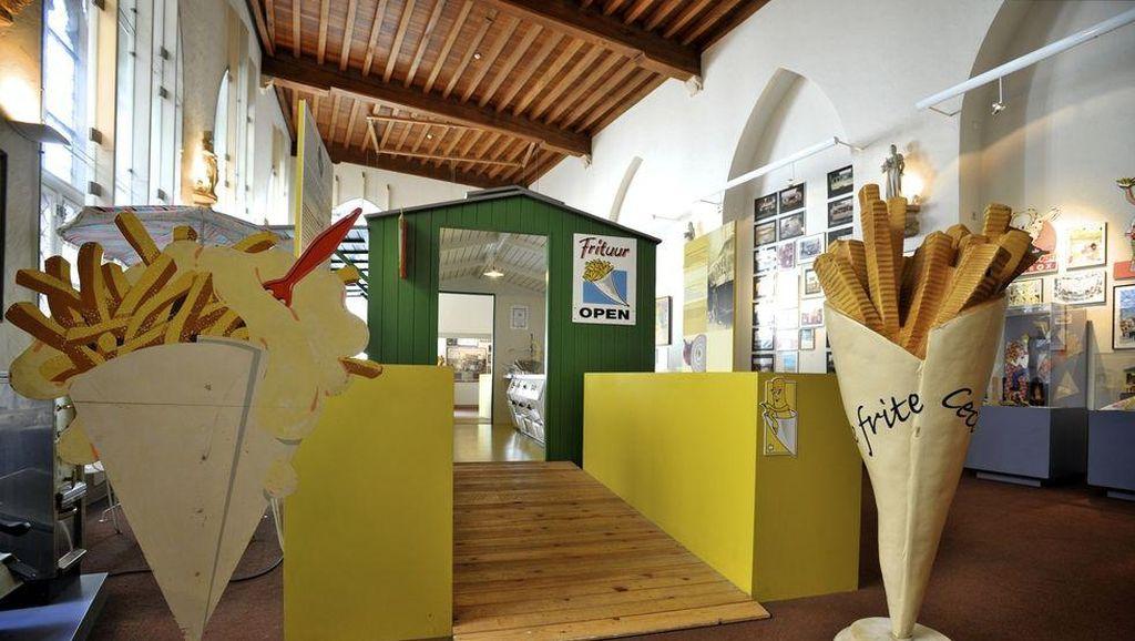 Di Museum Ini Bisa Belajar Sejarah Sambil Cicip Kentang Goreng hingga Ramen