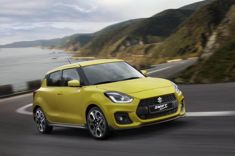 Suzuki Luncurkan Swift Sport Baru, Bobotnya Tak Sampai 1 Ton