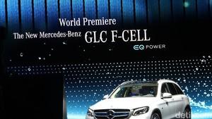 Mercedes-Benz GLC F-Cell Kombinasi Teknologi Fuel Cell dan Baterai