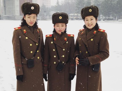 Wajah Militer dan Polisi Korea Utara yang Jarang Terungkap