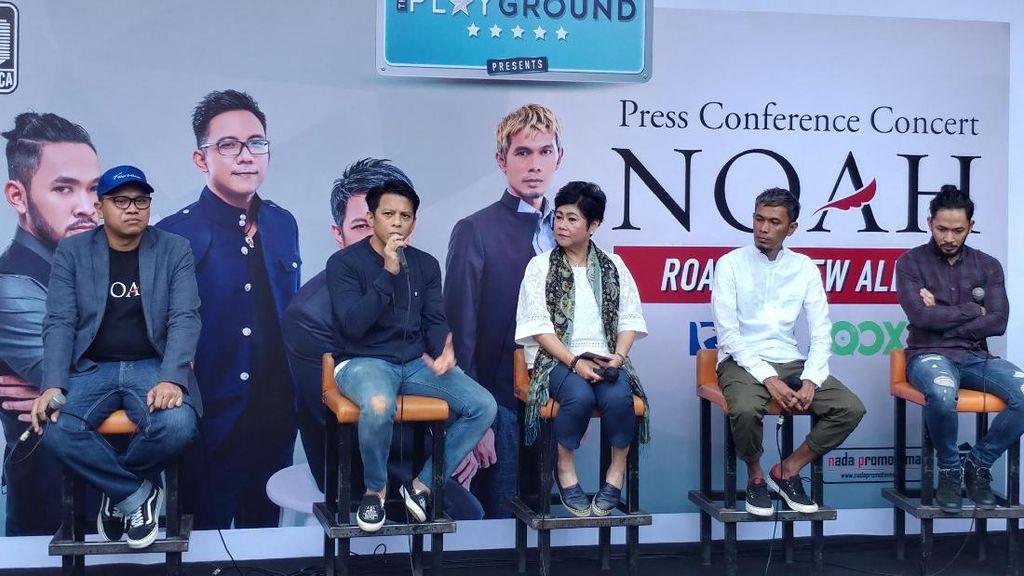 NOAH Bakal Bocorkan Isi Album Kedua Saat Konser di Bandung