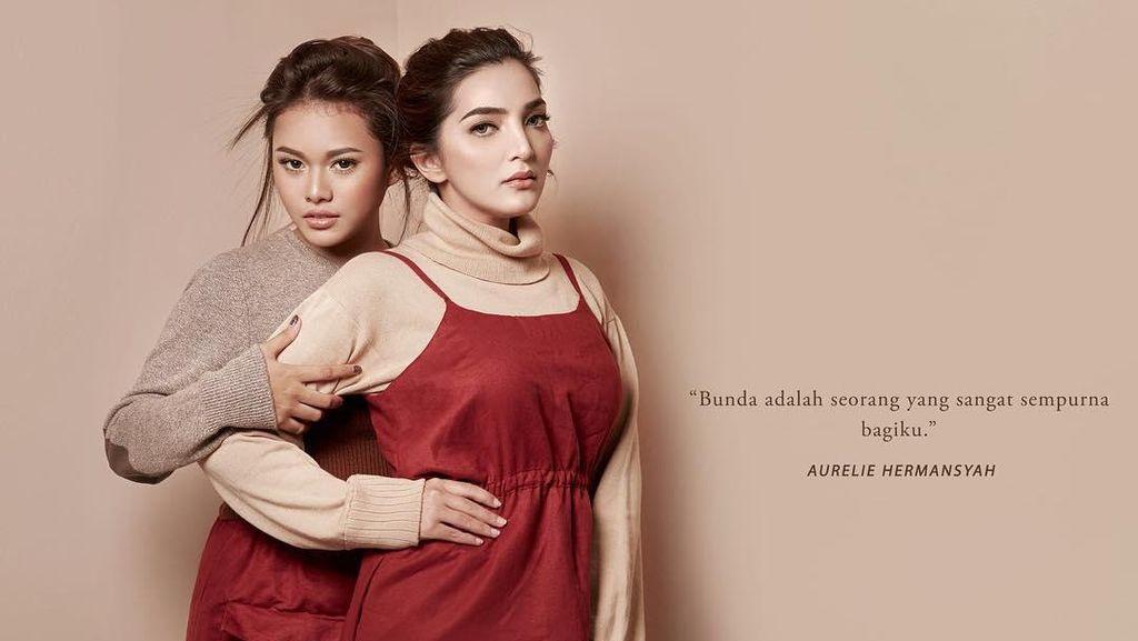 10 Potret Ashanty dan Aurel, Bukan Seperti Ibu-Anak Tiri Tapi Kakak-Adik