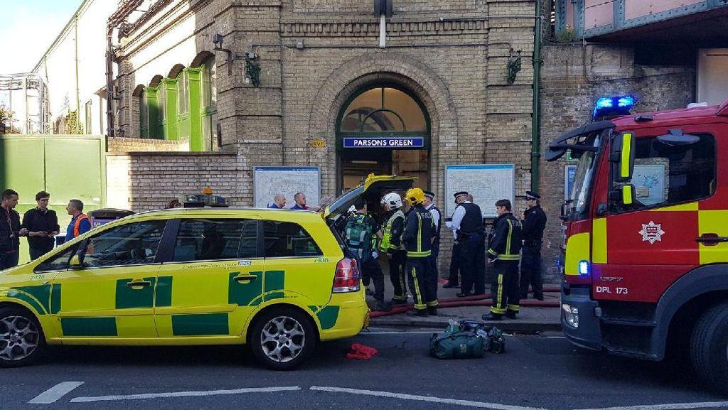 Ledakan di Kereta London, Orang-orang Panik dan Terinjak-injak