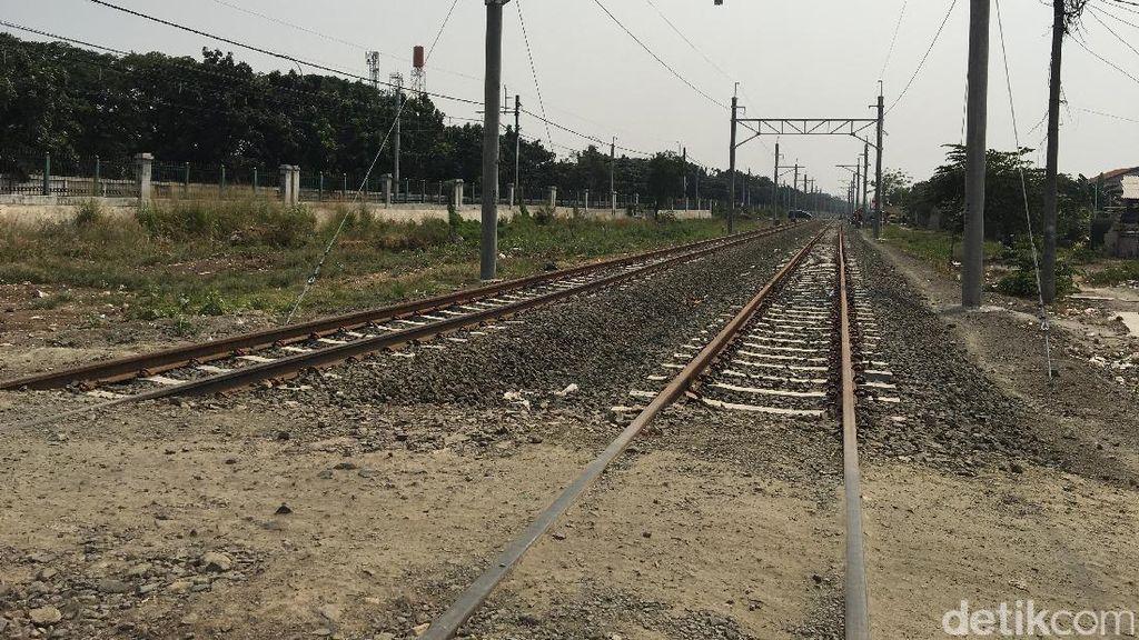 Kondisi Terkini Pembangunan Rel Kereta Bandara Soekarno-Hatta