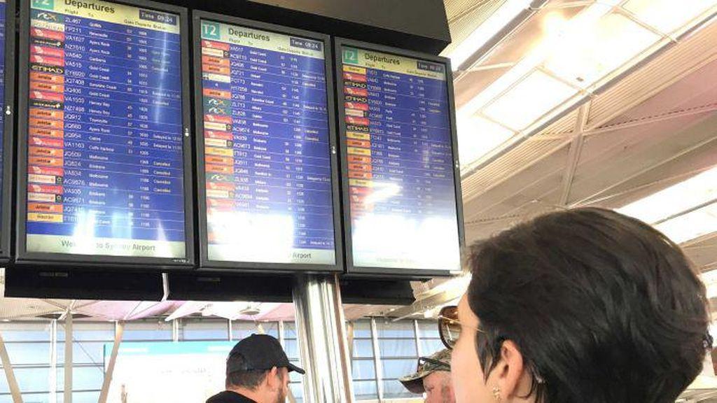 Penundaan Penerbangan di Sydney Berlanjut