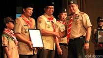 Ridwan Kamil, Deddy Mizwar dan Dedi Mulyadi Raih Pramuka Award