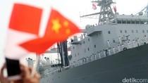 Tiga Kapal Perang China Merapat di Jakarta
