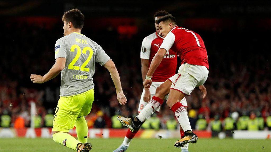 Bangkit dari Ketertinggalan, Arsenal Kalahkan Cologne 3-1