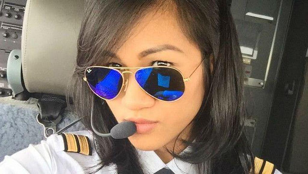 Foto: 8 Wanita Cantik yang Berprofesi Sebagai Pilot