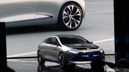 Konsep Mobil Listrik Simpel dan Futuristik dari Mercedes-Benz