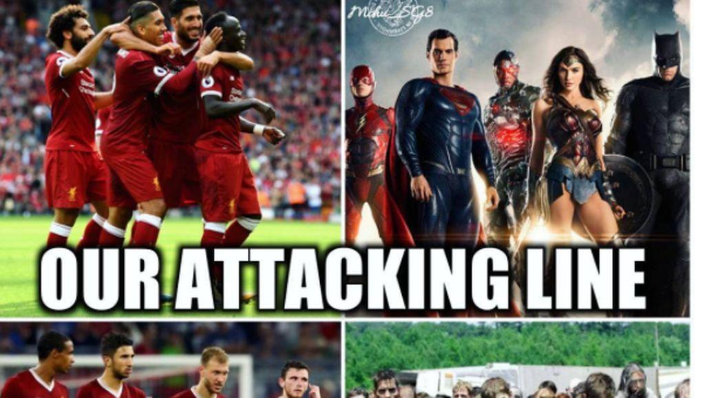 Pertahanan Buruk Liverpool Jadi Bahan Meme