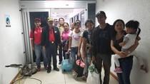Berhasil Dievakuasi, 7 WNI Korban Badai Irma Tiba di Caracas