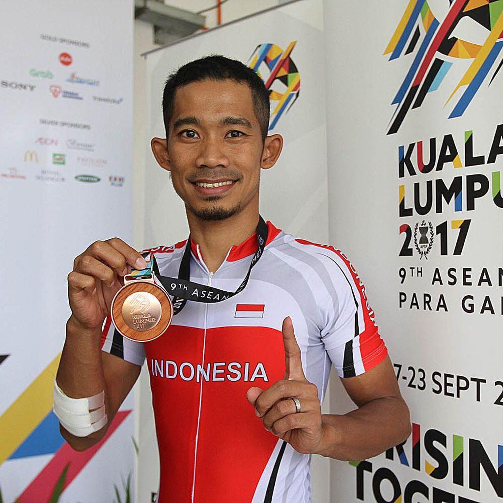 Getar Lain M. Fadli di Malaysia Berbuah Medali Pertama untuk Indonesia