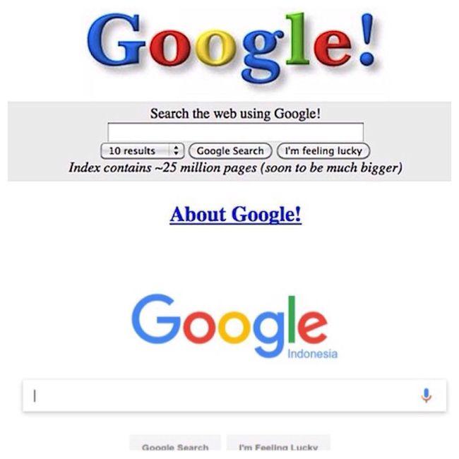 Google Masa Lalu, Masa Kini, Masih Gitu-gitu Aja