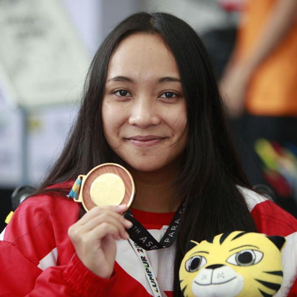 Laura Aurelia Sumbang Emas Pertama untuk Indonesia