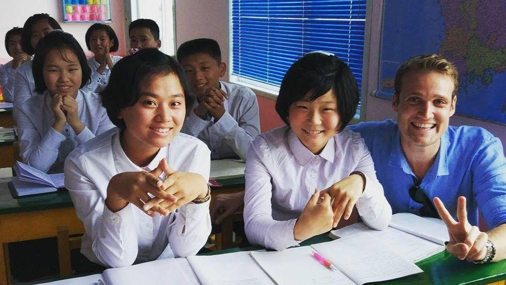 Foto: Kehidupan Anak Sekolah Korea Utara