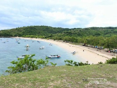 Candu di Pulau Lombok: Pantai Pink