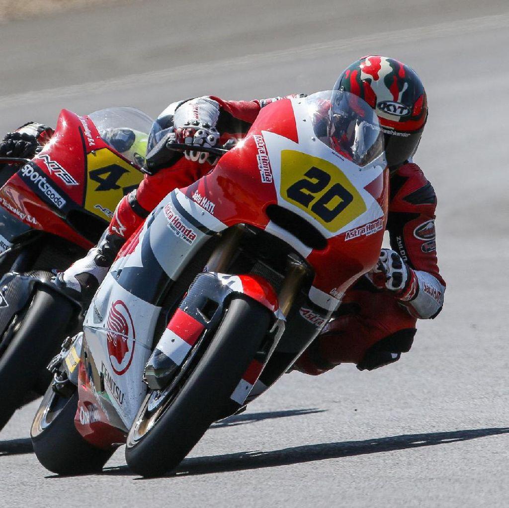Dimas Ekky Finis Keempat di Jerez