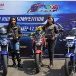 Lady Bikers Geber Vixion Ramaikan Victory Lap Yamaha Sunday Race
