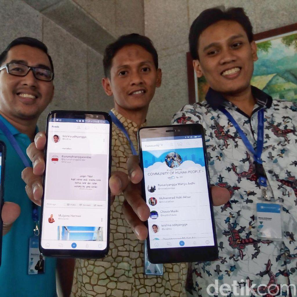 Oorth, Medsos Karya Anak Bangsa Diluncurkan Oktober