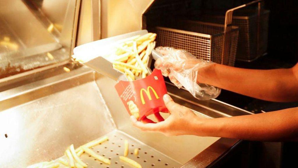 Dituduh Pakai Trik Rahasia Menakar Porsi French Fries, McD Beri Penjelasan!
