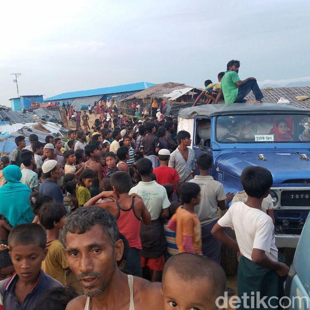 Anak-anak Rohingya di Pengungsian Mulai Terjangkit Penyakit