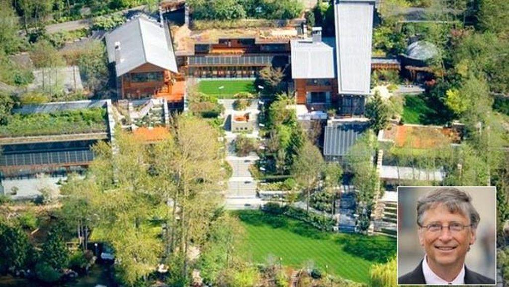 Terkagum Kemewahan Rumah Rp 1,6 Triliun Milik Bill Gates