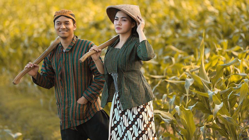 Jelang Nikah, Vicky Shu Siraman dan Sungkeman