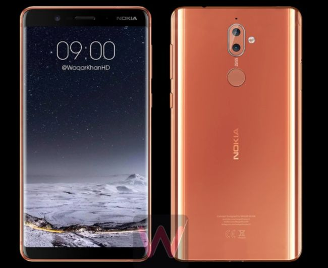 Ponsel Layar Penuh Nokia 9 Mau Tantang iPhone X?