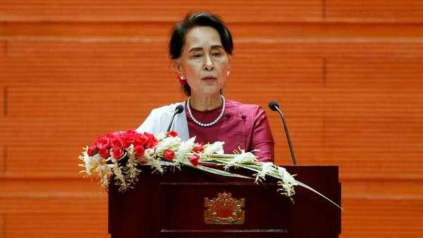 Suu Kyi Tegaskan Myanmar Tak Takut pada Kecaman Internasional